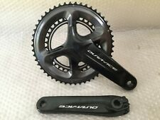 Shimano Dura Ace R9100 chainset crankset 50/34T 165MM RRP £500.00