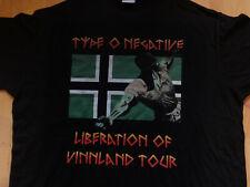Type O Negative Shirt Tour 1996 Carnivore L-Large