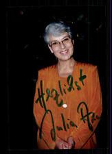 Julia axen foto original firmado # bc 43101
