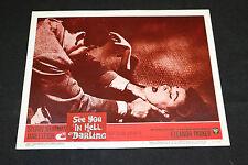 1966 See You In Hell Darling Lobby Card #7 Lloyd Nolan 66/299 (C-6)