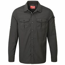 CRAGHOPPERS MENS NOSILIFE ADVENTURE LONG SLEEVE SHIRT CMS524