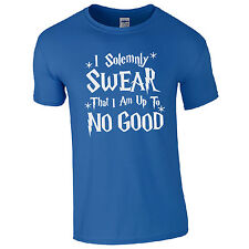I Solemnly Swear That I Am Up To No Good T-Shirt - Wizard Harry Magic Geek Top