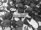 WWII photo German helmets captured by Soviet troops at Stalingrad 229