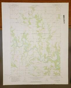 "Pilot Mound, Minnesota Original Vintage 1974 USGS Topo Map 27"" x 22"""