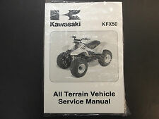 Brand New Kawasaki Service Manual KFX50 2003 #99924-1297-01
