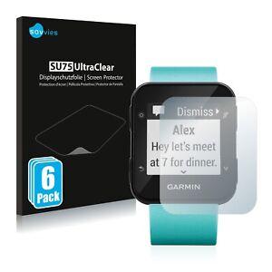 Film Protecteur d'écran pour Garmin Forerunner 35 / 30 Protection 6x