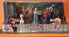 Disney Frozen Elsa Anna Olaf  Sven Hans Cake Topper 6 Figure Play Set
