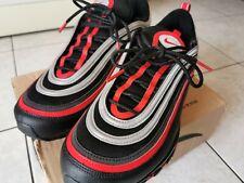 921826-014 Scarpe Nike Air Max 97 Black Red Silver , IT 45,5 UK 10,5