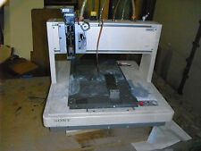Sony Assembly Robot uses Mach 3 CNC 3D Printer (3490)
