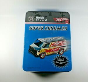 Hot Wheels Super Chromes 40th Anniversary 10 Car Set Red Lines New Sealed