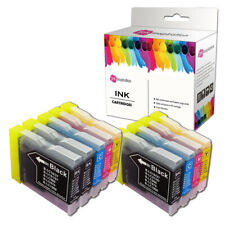 9x Ink Cartridge fits Brother LC970 LC1000 MFC-260C MFC-440CN MFC-465CN MFC660CN