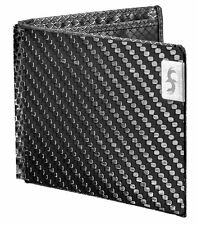 Real Carbon Fiber Mens Wallet Credit Card Protection ID Holder Bifold Purse New