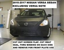Lebra Front End Mask Cover Bra Fits 2015-2019 Nissan Versa Sedan exc.note