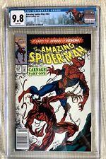 Amazing Spider-man # 361 CGC 9.8 Stan Lee, 1st Carnage, 300 Newstand Mark Bagley