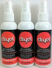 3 Pack Dryel At-Home Dry Cleaner Cleaning Booster Spray 3 oz each (9 oz total)