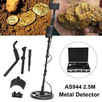 AS944 2.5M Underground Silver Metal Detector Gold Digger Treasure Hunter