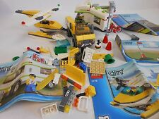 LEGO - Job lot of LEGO City bricks with manuals (models 3178, 7639 and 3179)