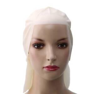 Film Wigs Headgear Bald Hood Latex Hoods Costume Wig Make Up Decor BB