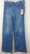 70s Retro Snap Dragon High Rise Juicy Couture Women's Size 28 Saddle Jeans NWT