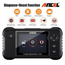 Automotive Full OBD2 Diagnostic Tool Transmission SRS Battery EPB Reset Scanner