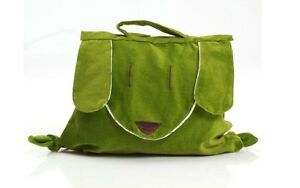 (RA 69) Kids Animal Backpack - Green Puppy