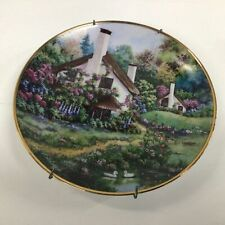 A Cozy Glen: Franklin Mint Heirloom Limited Edition Decorative Plate #323