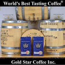 Dark Roast 100% Jamaica Jamaican Blue Mountain - World's Best Coffee 2 lb.