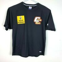 Canberra Cavalry Russell Athletic dripower Genuine Shirt Size Men's Large ABL