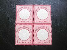 GERMANY 1872  MI.NR.19 LARGE SHIELD RED MNH  $1200
