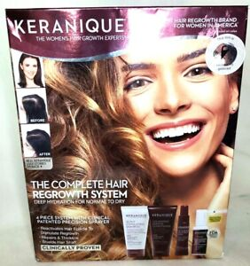 KERANIQUE THE COMPLETE HAIR REGROWTH SYSTEM 4 PIECE Womens #9230