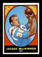 1967 Topps #124 Jacque MacKinnon  EXMT/EXMT+ X1656237