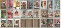 Atlanta Falcons 27 card 2006 insert lot-all different