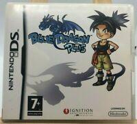 jeu ds blue dragon plus   FRA ( Française ) nintendo rare sans  notice