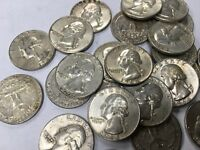 ON SALE! 1964P Washington 90% Silver Quarters VG TO VF  PRICE REDUCED! SEE INFO