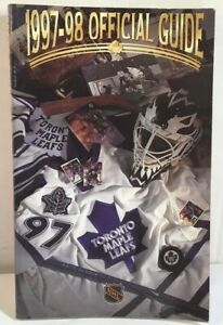 TORONTO MAPLE LEAFS 1997-98 OFFICIAL GUIDE VG