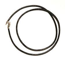 THOMAS SABO - Charm Club Halsband Band schwarz Kunstleder 53 cm X0004