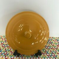 Fiestaware Marigold Covered Casserole Lid Fiesta Retired Style LID ONLY