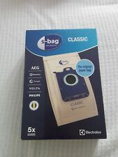 S-bag vacuum cleaner dust bags pack x5 Electrolux original E200 9001684621