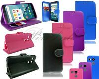 For LG Nexus 5X New Slim Leather Flip Wallet Pouch Phone Case 2015 +Screen Guard