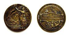 Medaglia Repubblica Italiana Medaglia D'Onore Per La Lunga Navigazione Compiuta