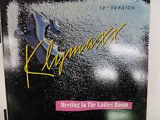MEETING IN THE LADIES ROOM KLYMAXX 33 RPM EX  110915 TLJ