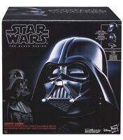 Hasbro Star Wars The Black Series Darth Vader  Electronic Helmet New Free P+P!
