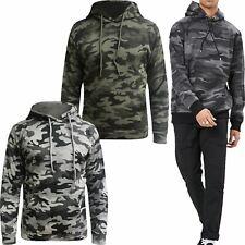 Lagos Herren Strick Pullover Pulli Camouflage Khaki Army Frühling Knit-Jumper