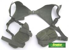 BRITISH ARMY STYLE SHOULDER HOLSTER in OLIVE GREEN