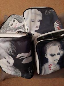 Leighton Denny Storage Bags x 4.  Makeup Nails