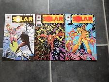 Solar Man of the Atom #28 #29 #30 unbroken run Valiant comics 3 books