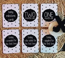 SALE - Baby Milestone Cards - BRAND NEW - Pack of 16 - Age Cards Only $9.99