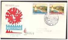 FDC Venetia Club San Marino 1960 - Giornata Philatelic Viaggiata Racc