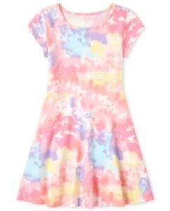 NIP The Chilren's Place Girls Print Skater Dress - 10