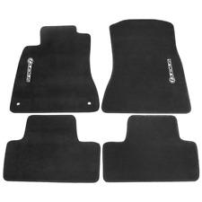Fit For 06-12 Lexus Is350 Is250 Nylon Floor Mats Carpets w/ Black Lexus